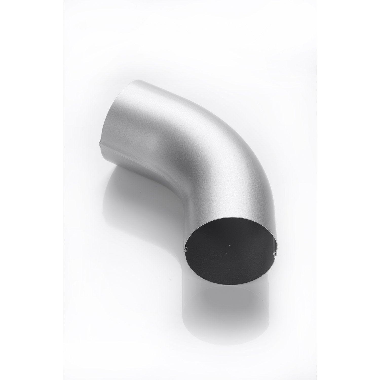 coude acier laqu gris scover plus mm leroy merlin. Black Bedroom Furniture Sets. Home Design Ideas