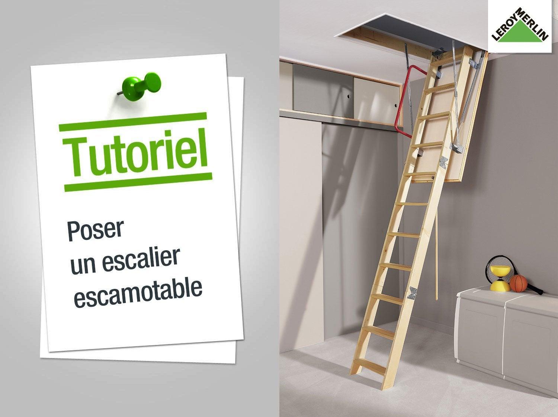 Comment poser un escalier escamotable ? | Leroy Merlin