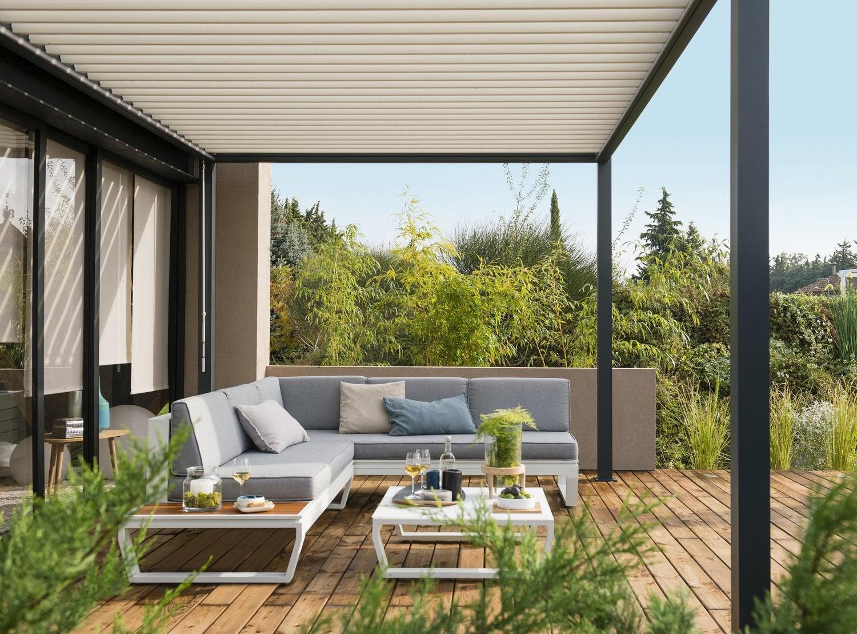 Salon de jardin un espace de vie en plein air - Brumisateur terrasse leroy merlin ...