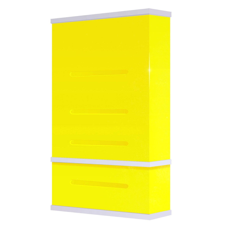 chauffe eau lectrique horizontal ou vertical waterslim wts 100 jaune 100 l leroy merlin. Black Bedroom Furniture Sets. Home Design Ideas