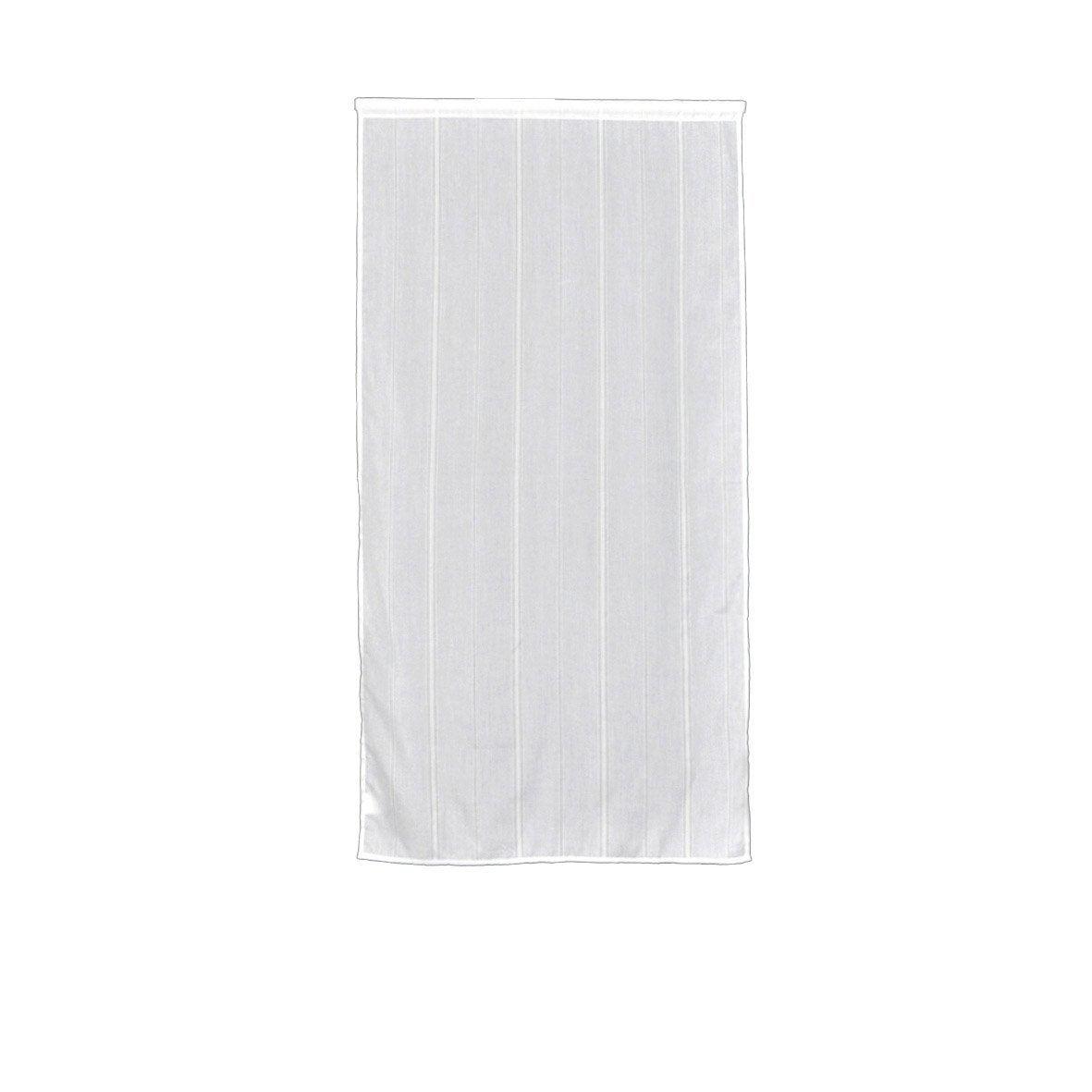 Vitrage capucine blanc 90 x 160 cm leroy merlin - Leroy merlin vitrage ...