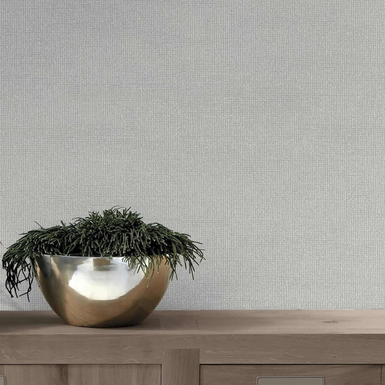 papier peint papier dulce paillette gris fonc leroy merlin. Black Bedroom Furniture Sets. Home Design Ideas