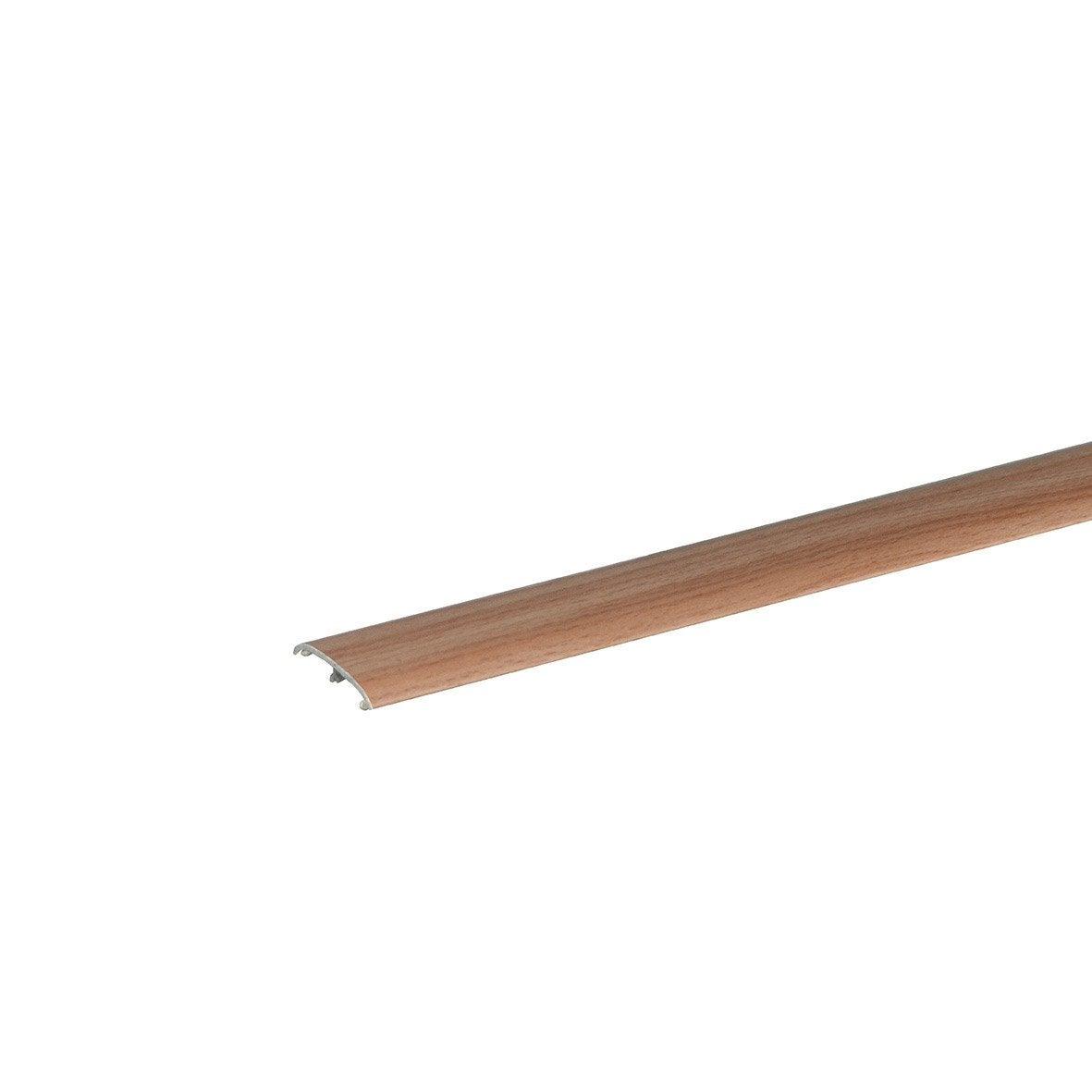 barre de seuil effet h tre 3 frises pour sol stratifi cm x mm leroy merlin. Black Bedroom Furniture Sets. Home Design Ideas