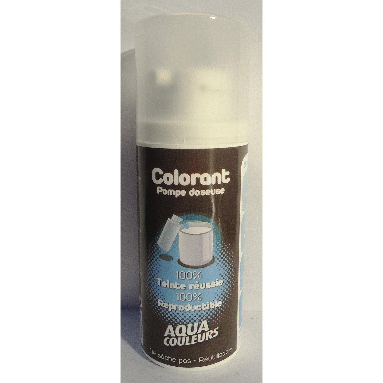 Colorant sp cial peinture acrylique aquacouleurs bleu - Peinture bleu petrole leroy merlin ...