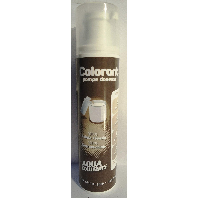 colorant sp cial peinture acrylique aquacouleurs mastic 100 ml leroy merlin. Black Bedroom Furniture Sets. Home Design Ideas