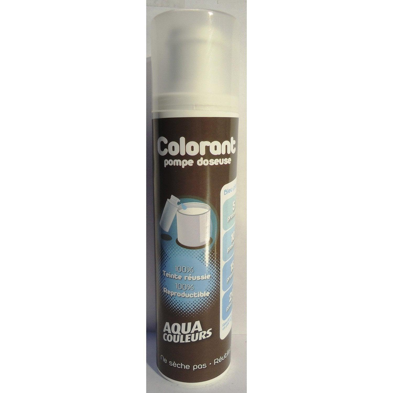 colorant spcial peinture acrylique aquacouleurs bleu piscine 100 ml leroy merlin - Colorant Pour Fuite Piscine