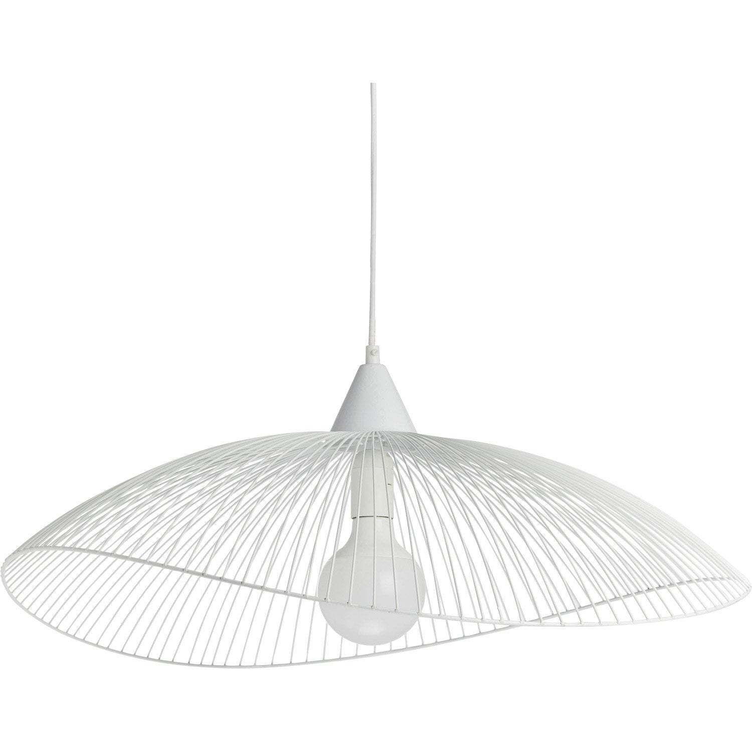 suspension e27 scandinave kasteli metal blanc 1 x 40w seynave Résultat Supérieur 15 Frais Lustre Suspension Metal Photos 2017 Phe2