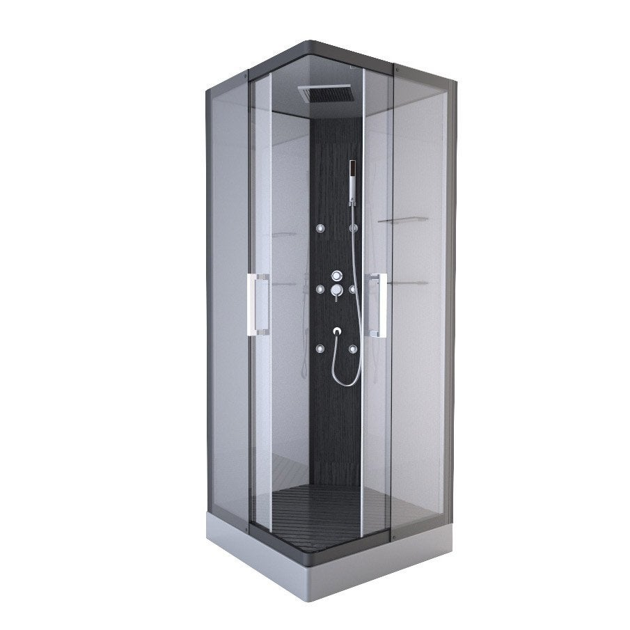 cabine de douche leroy merlin maison design. Black Bedroom Furniture Sets. Home Design Ideas