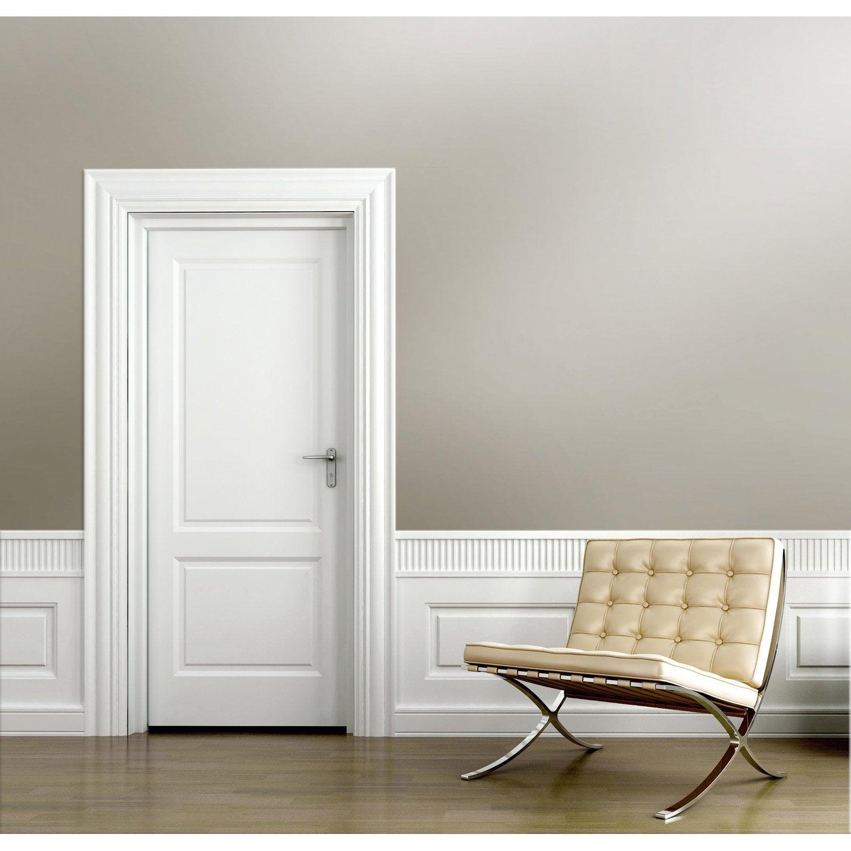 papier peint intiss aurora taupe leroy merlin. Black Bedroom Furniture Sets. Home Design Ideas
