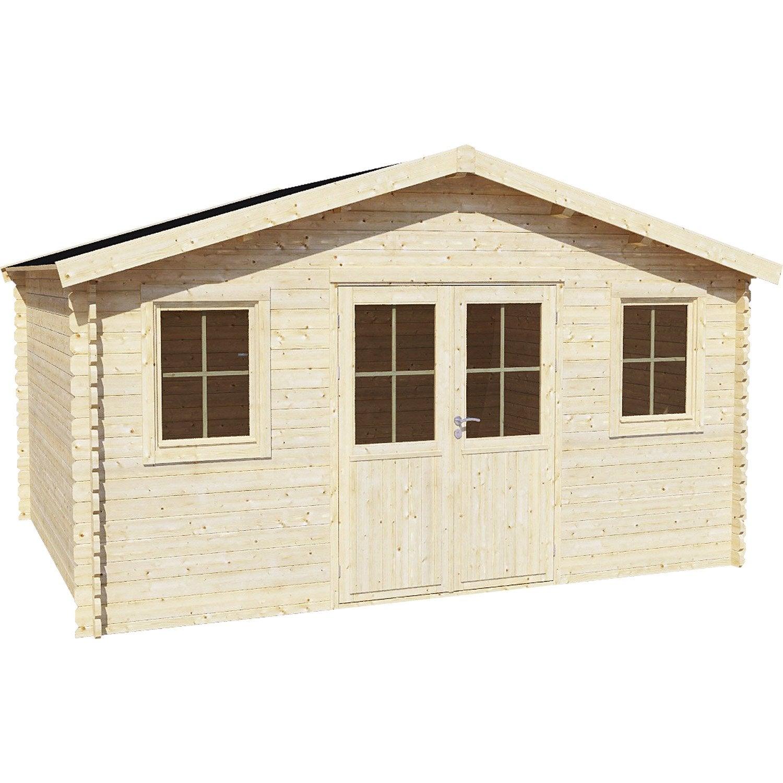 beautiful cabane de jardin castorama contemporary. Black Bedroom Furniture Sets. Home Design Ideas