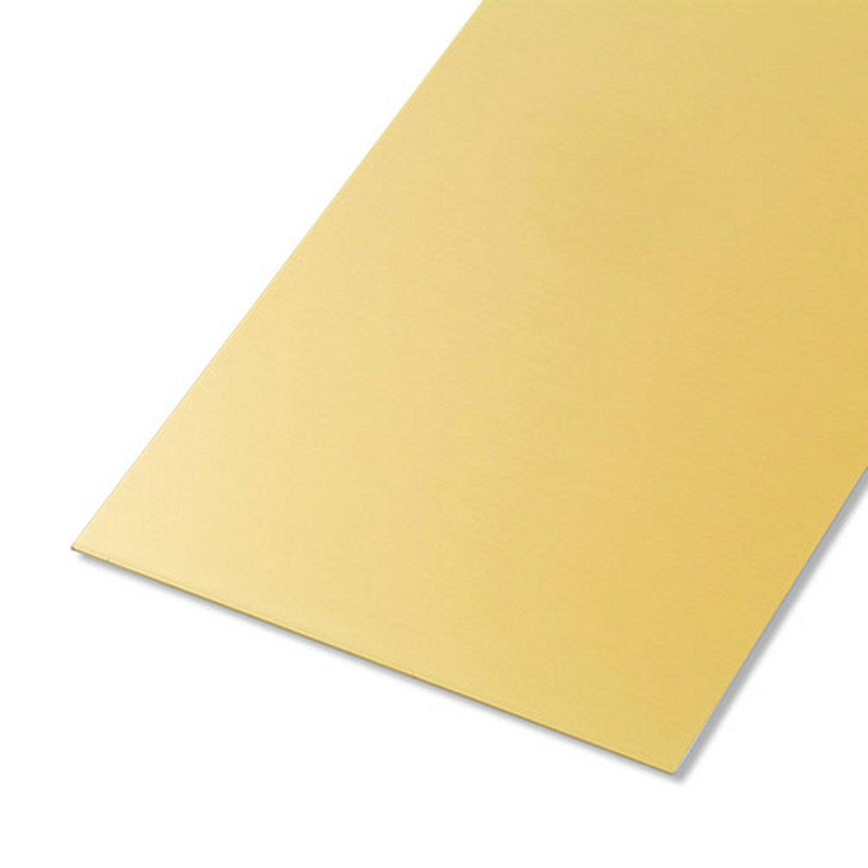 T le lisse aluminium anodis x cm x ep 0 5 mm leroy merlin - Tole ondulee plastique leroy merlin ...