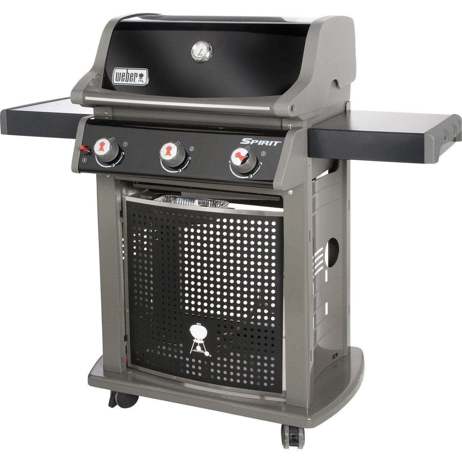 Barbecue au gaz weber spirit classic e 310 3 bruleurs for Barbecue a gaz leroy merlin