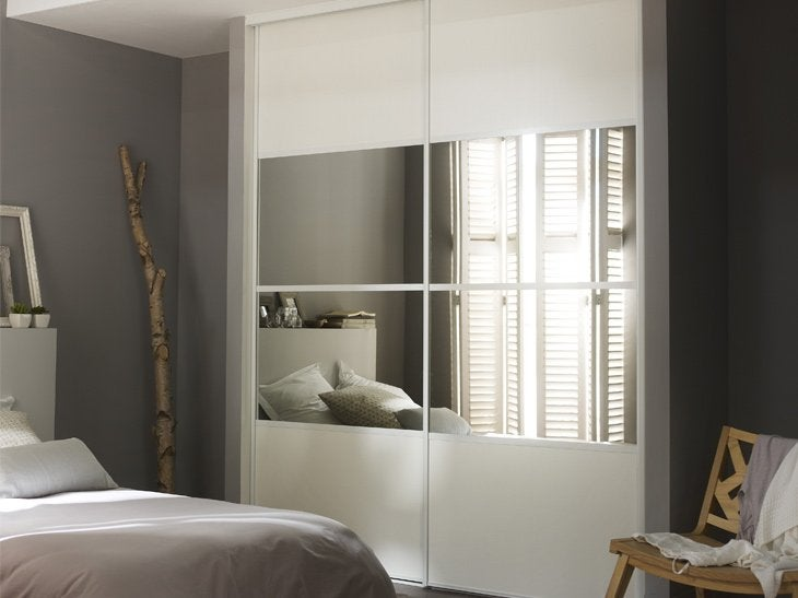 porte placard coulissante sur mesure deco maison moderne. Black Bedroom Furniture Sets. Home Design Ideas
