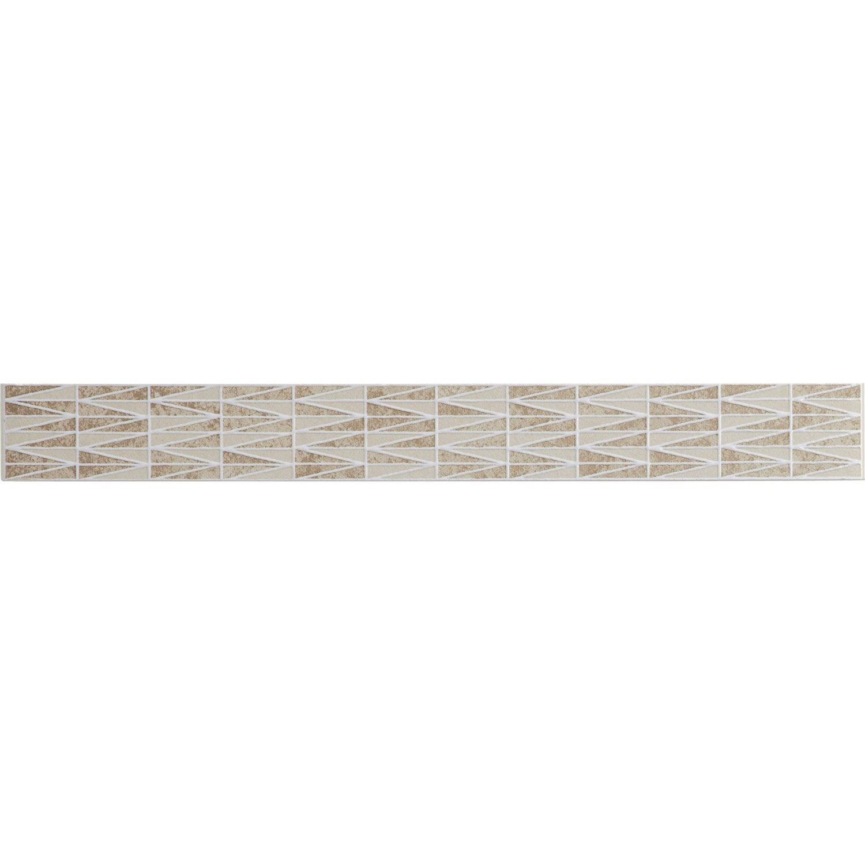 Listel smart artens beige 4x40 cm leroy merlin - Smart tiles chez leroy merlin ...