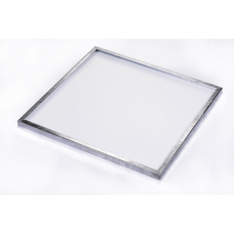 cadre pour grille caillebotis acier galvanis x. Black Bedroom Furniture Sets. Home Design Ideas