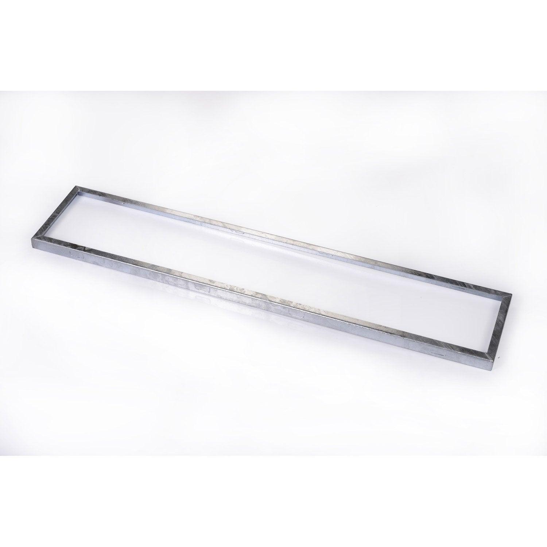 Cadre pour grille caillebotis acier galvanis x - Prix grille caillebotis acier galvanise ...