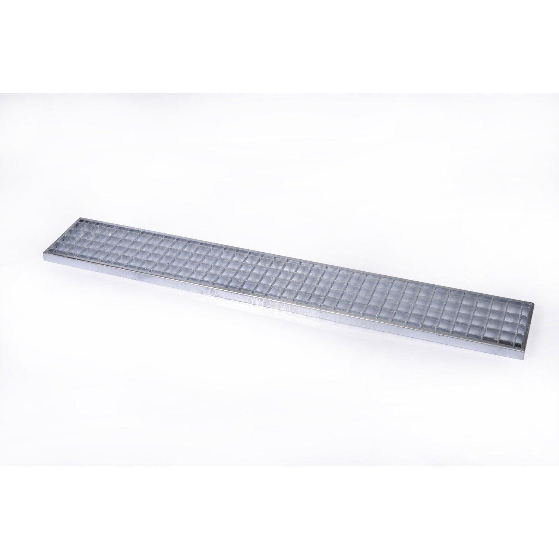 grille caillebotis galva 1240 x 190 mm leroy merlin. Black Bedroom Furniture Sets. Home Design Ideas
