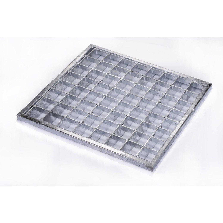 grille caillebotis 270 x 270 mm leroy merlin. Black Bedroom Furniture Sets. Home Design Ideas