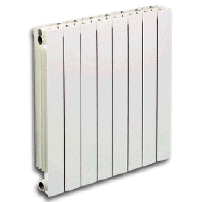 Radiateur chauffage central aluminium vip 1 l ment 181w leroy merlin - Radiateurs aluminium pour chauffage central ...
