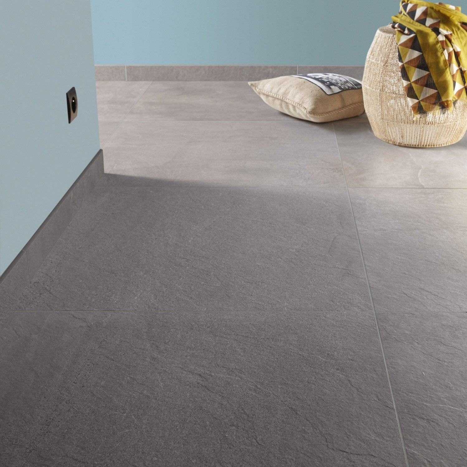 Carrelage 75 75 for Carrelage 75x75 gris