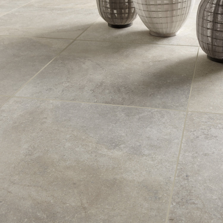 Carrelage sol et mur beige effet pierre pietra x for Pietra refrattaria leroy merlin
