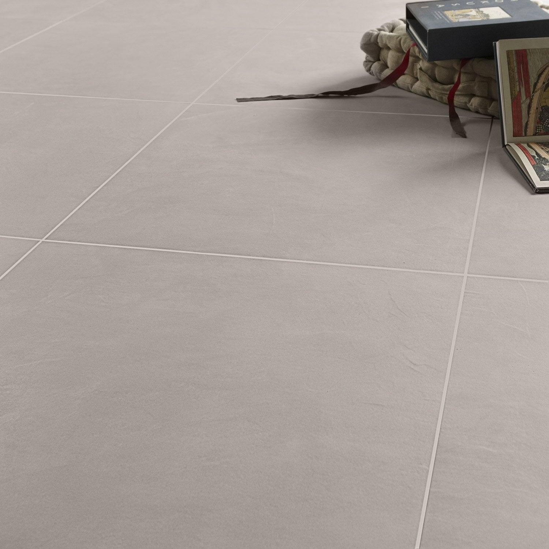 Carrelage sol et mur alu effet b ton studio x cm for Carrelage 60 x 60