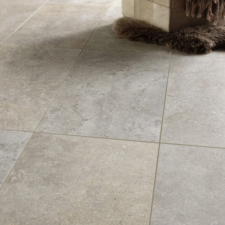 carrelage sol et mur beige effet pierre pietra l 30 x l 60 cm