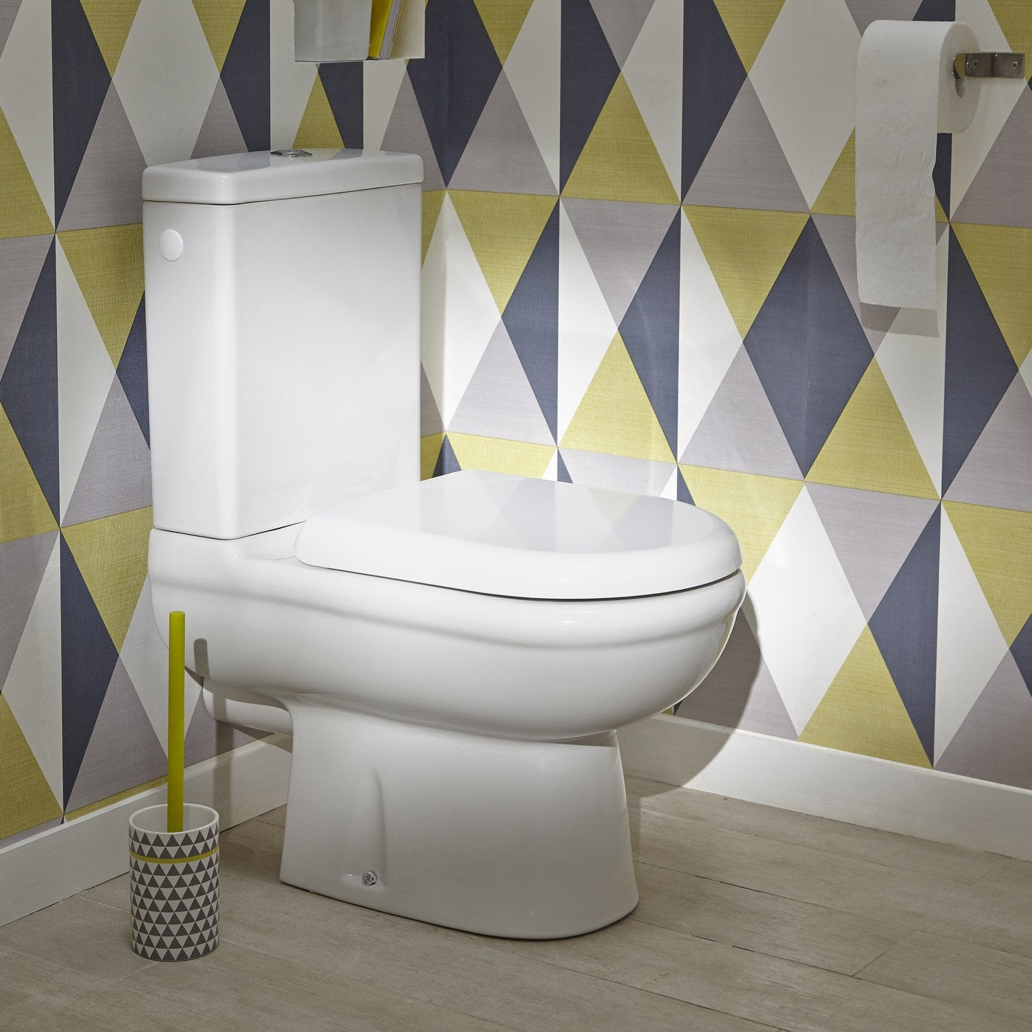 Pack wc poser sortie horizontale ideal standard exacto for Wc gain de place villeroy et boch