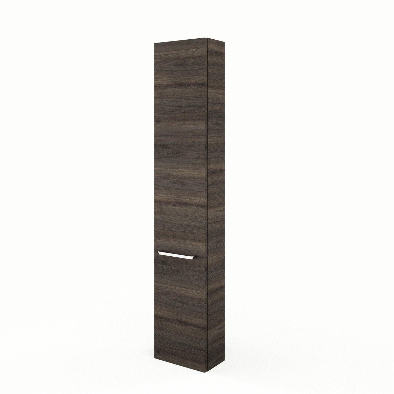 colonne x x cm imitation ch taignier neo line leroy merlin. Black Bedroom Furniture Sets. Home Design Ideas