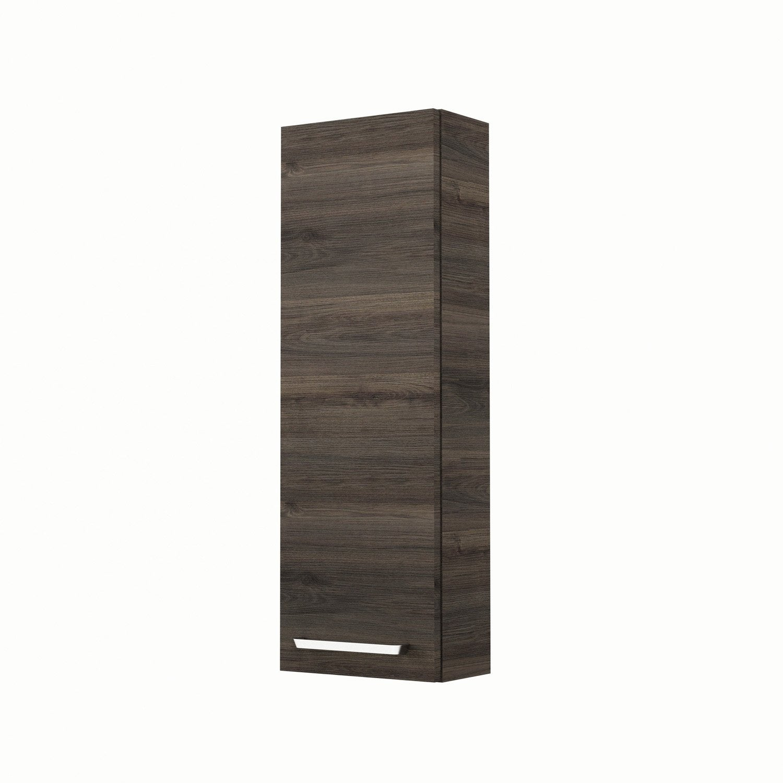 meuble haut x x cm imitation ch taignier neo line leroy merlin. Black Bedroom Furniture Sets. Home Design Ideas
