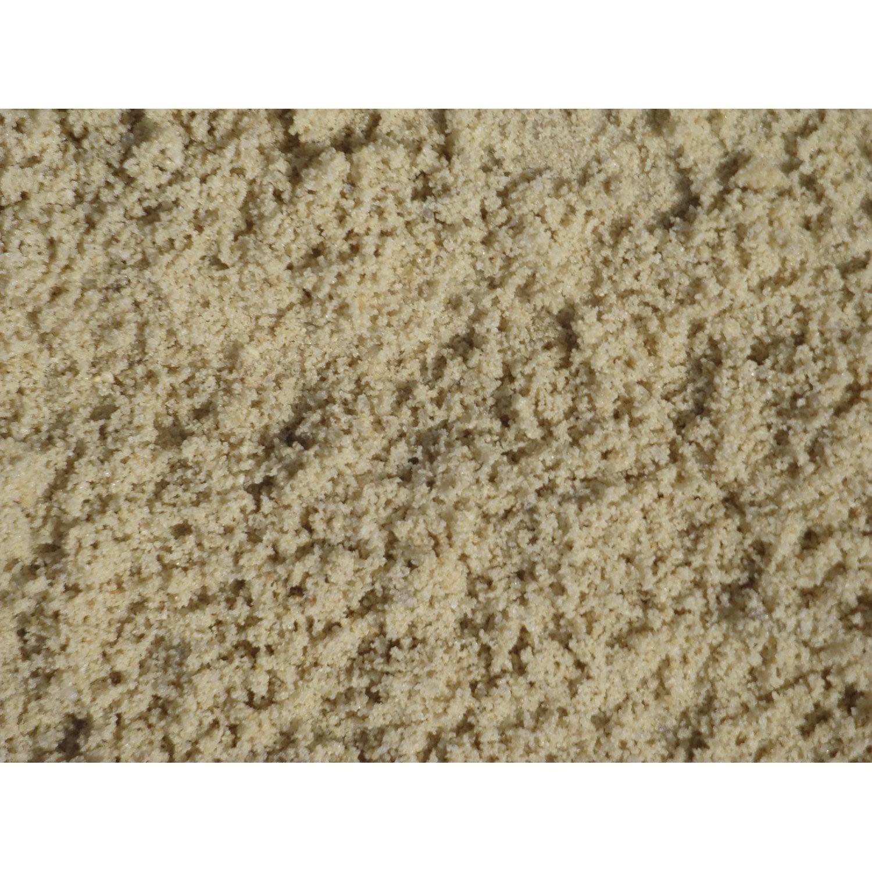 Sable d coratif pierre naturelle blanc silice 0 2mm 25 kg - Sable polymere leroy merlin ...