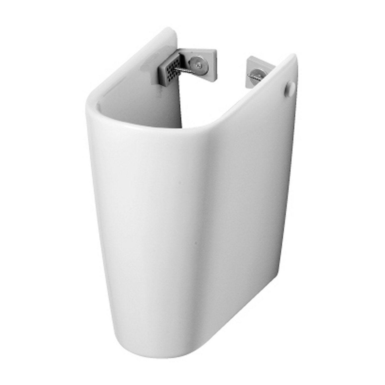 Cache siphon ideal standard seventies blanc en porcelaine l 27 x l cm leroy merlin - Cache clim leroy merlin ...