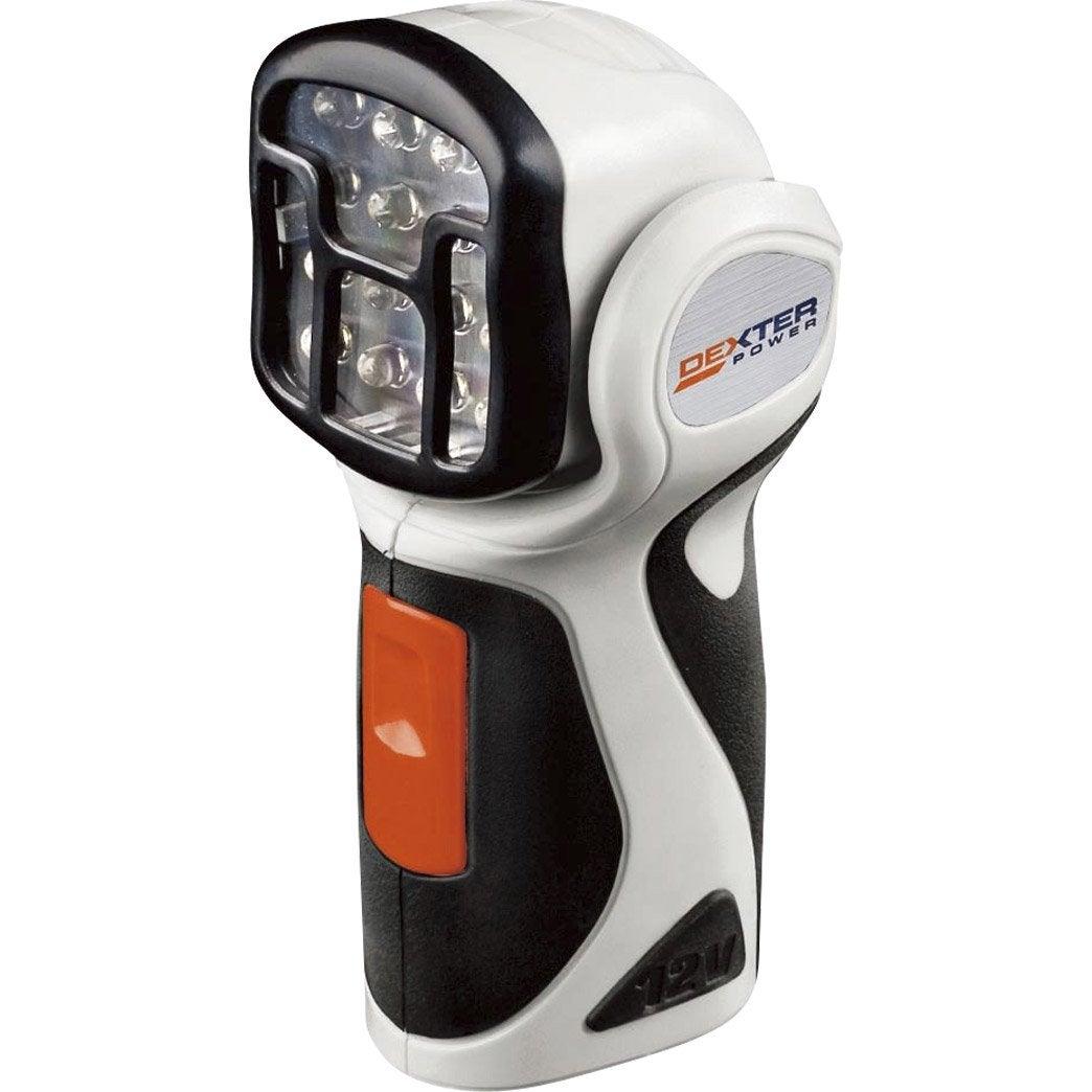 Lampe torche dexter power 12 v sans batterie leroy merlin - Transformateur 220v 12v leroy merlin ...