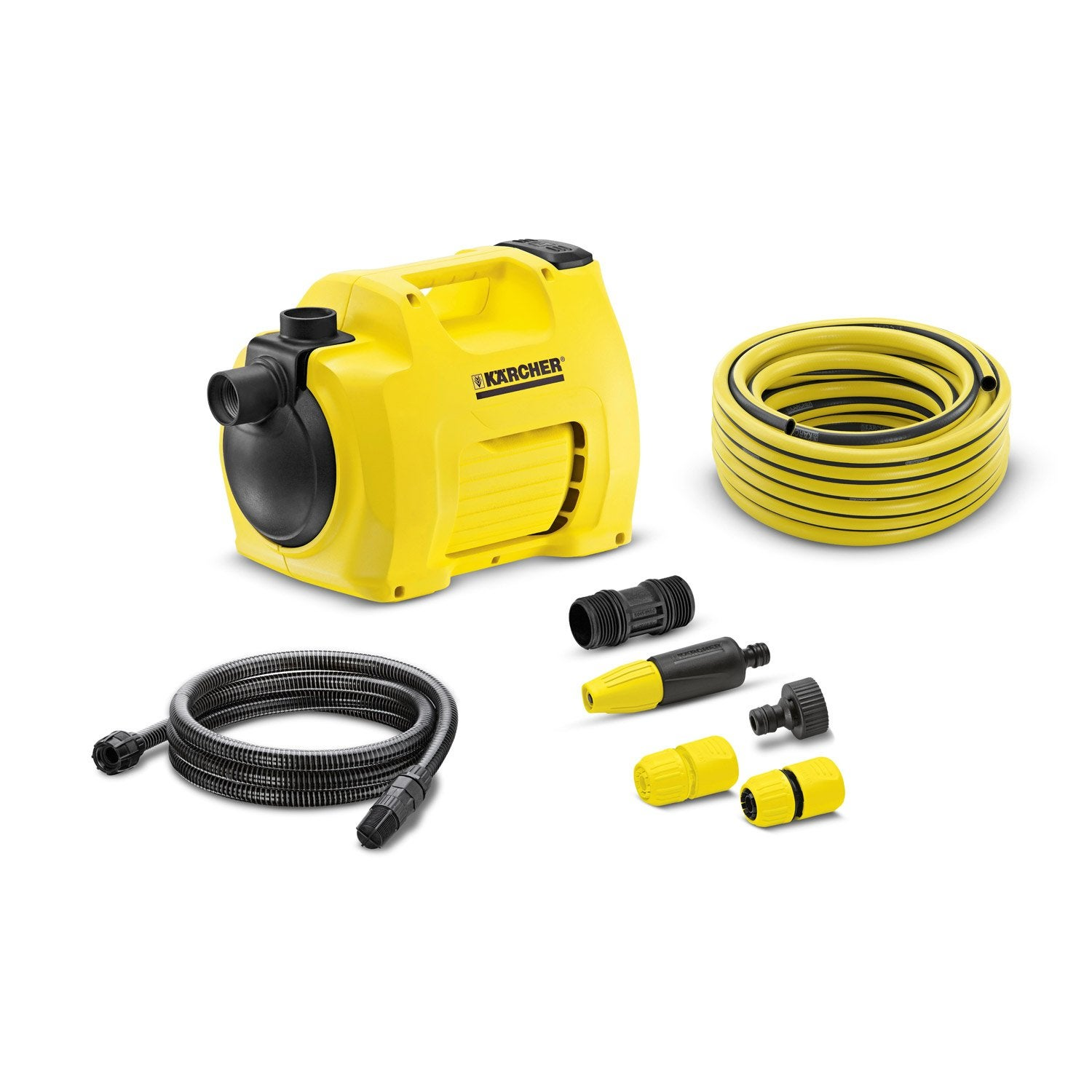 Pompe de surface manuelle karcher bp3 gardenset 3500 l - Leroy merlin karcher ...