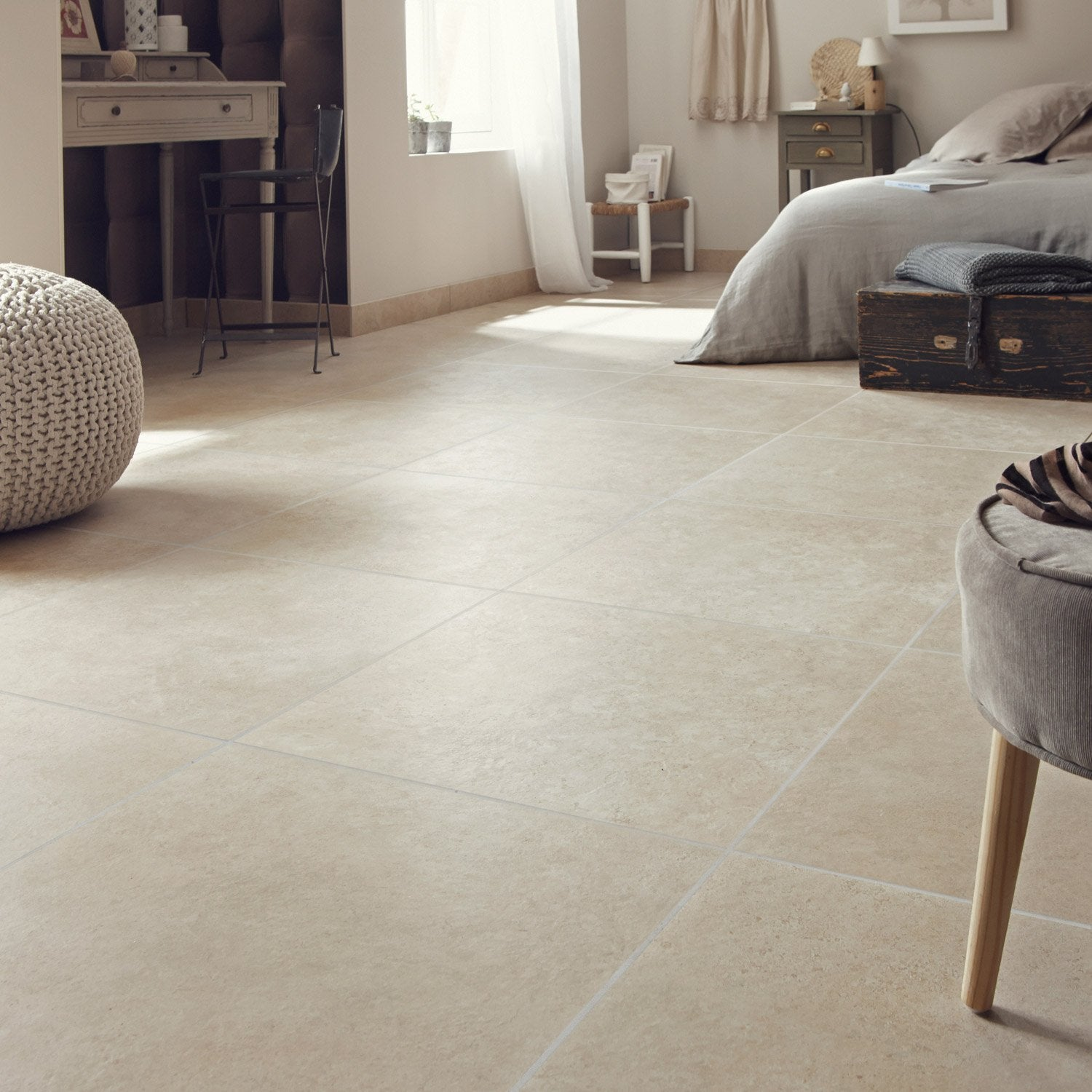 Carrelage 60x60 beige for Leroy merlin carrelage interieur