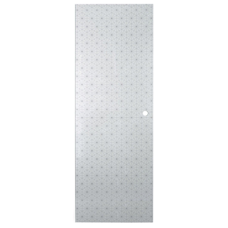 Porte coulissante diamond artens x cm for Porte coulissante leroy merlin artens