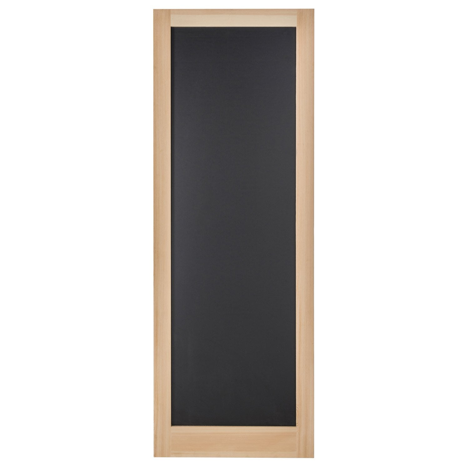 porte coulissante pin plaqu e pin craie artens x cm leroy merlin. Black Bedroom Furniture Sets. Home Design Ideas