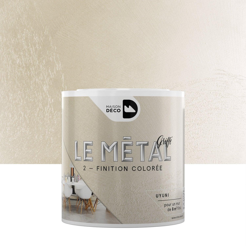Enduit d coratif le m tal griff maison deco uyuni 0 5 - Enduit decoratif leroy merlin ...