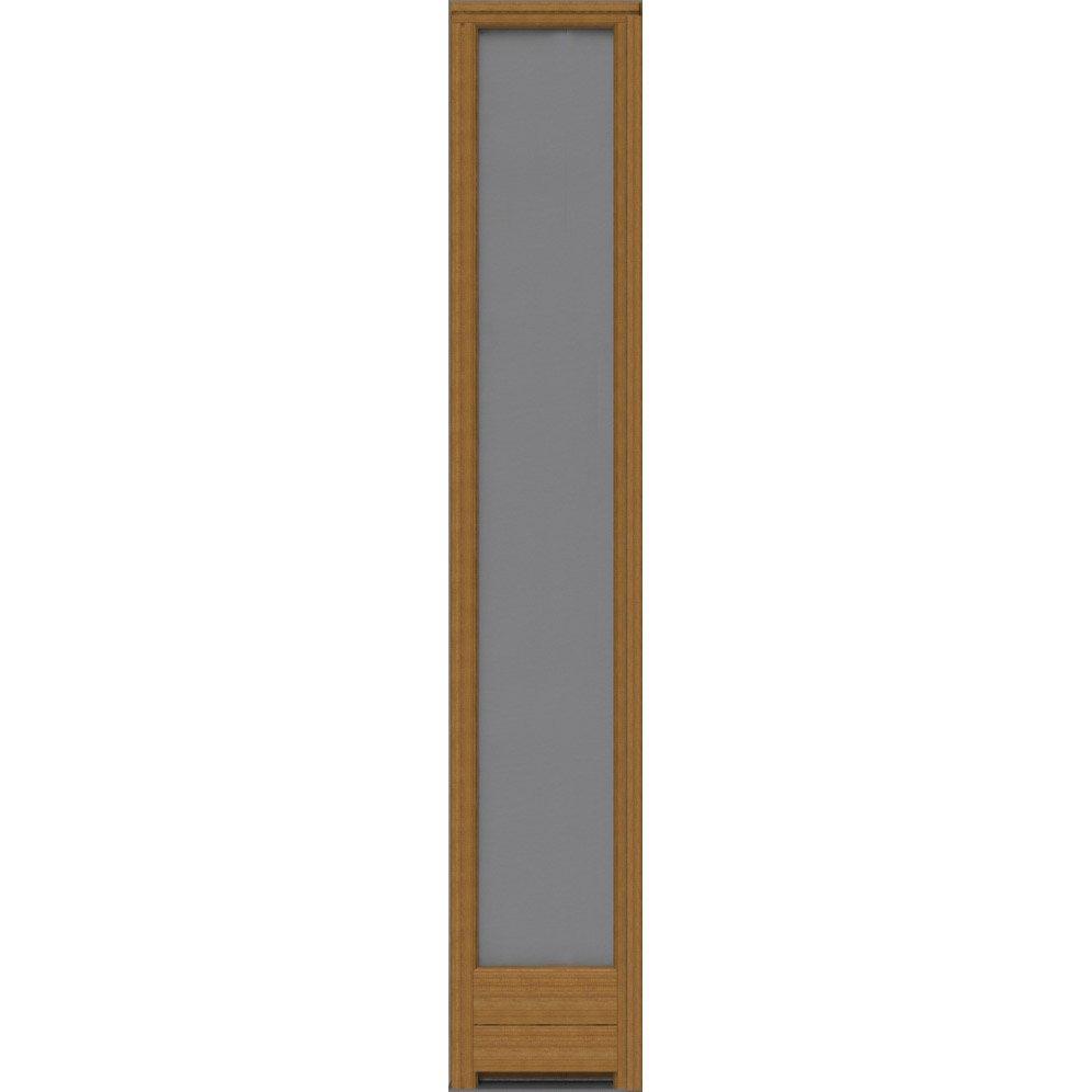 Fixe lat ral pour porte d 39 entr e cm bois exotique - Tapis d escalier leroy merlin ...