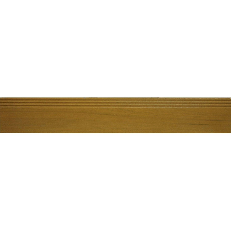 imposte pleine pour porte d 39 entr e cm bois exotique artens leroy merlin. Black Bedroom Furniture Sets. Home Design Ideas