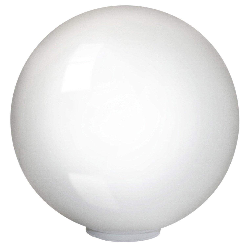 Boule d corative ext rieure terraluna e27 22 w blanc eglo - Boule lumineuse exterieur leroy merlin ...