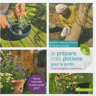 Je pr pare mes potions pour le jardin terre vivante for Le jardin vivant
