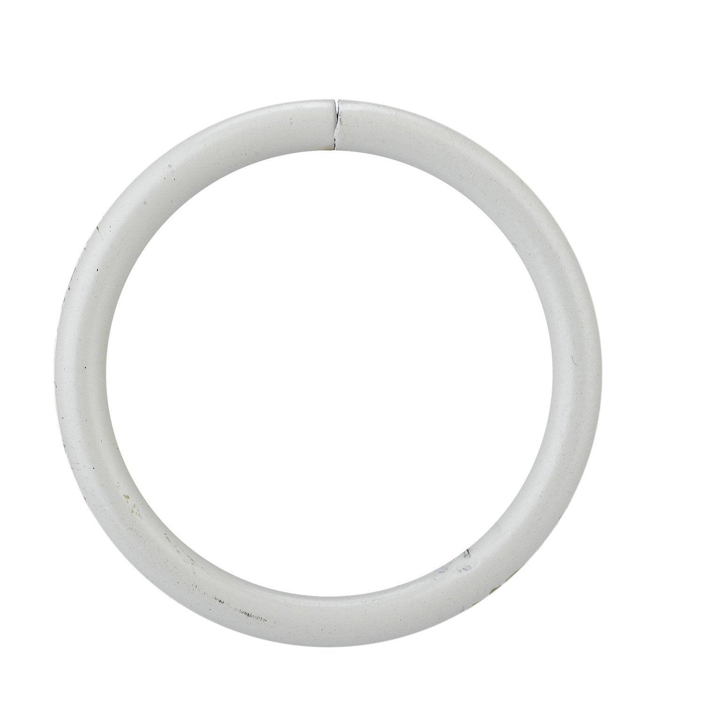Lot de 10 anneaux pour tringle rideau inspire diam 20 for Cable acier pour rideau