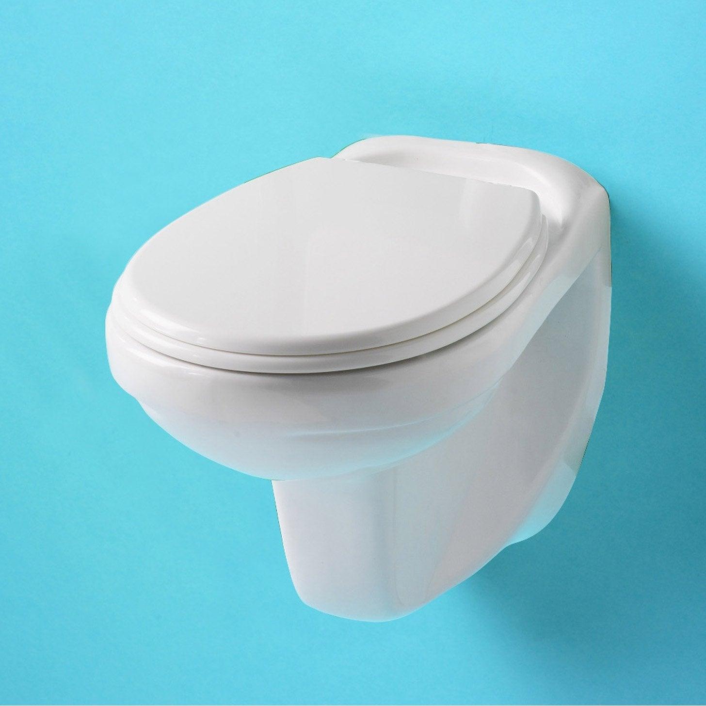 Cuvette pour wc suspendu nerea leroy merlin for Douchette pour wc leroy merlin