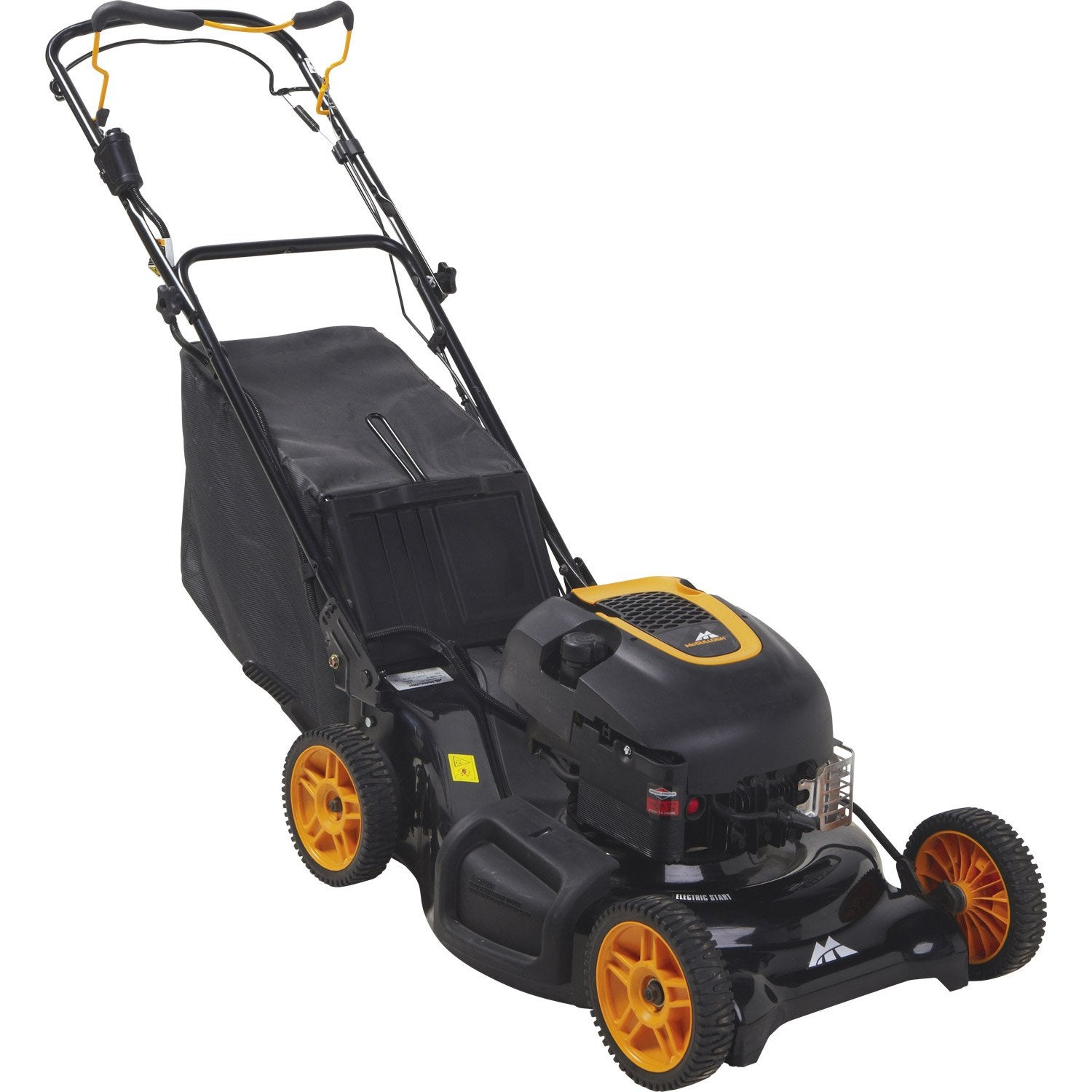 tondeuse thermique mc culloch m53 190 er 190 cm cm leroy merlin. Black Bedroom Furniture Sets. Home Design Ideas