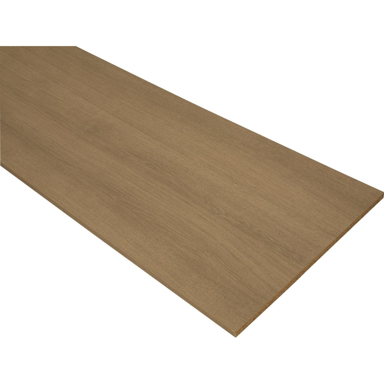 tablette ch ne naturel classic aero x cm p 1 8 cm leroy merlin. Black Bedroom Furniture Sets. Home Design Ideas