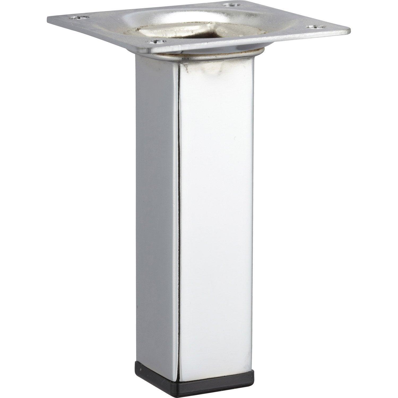 Pied de table inox leroy merlin maison design - Leroy merlin pied meuble ...