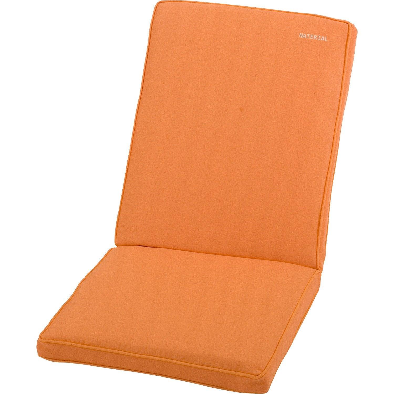 Coussin d 39 assise dossier de chaise ou fauteuil naterial Coussin de chaise 45x45