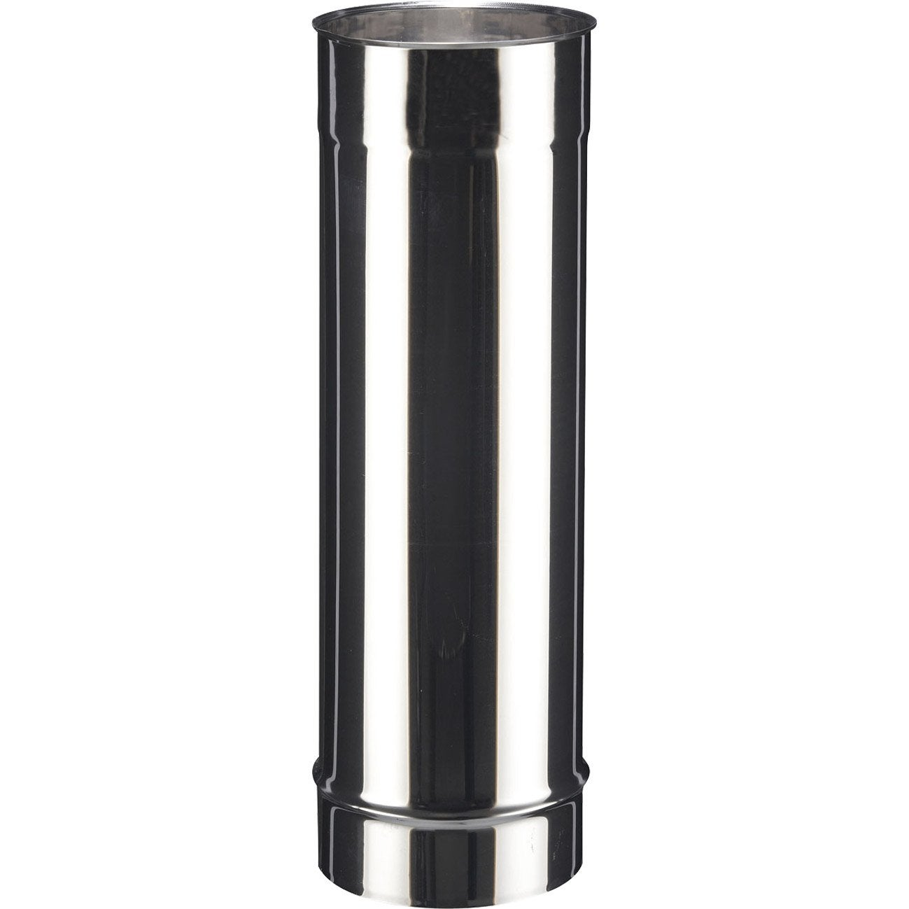 tuyau inox de raccordement poujoulat diam 180 mm 50 cm. Black Bedroom Furniture Sets. Home Design Ideas