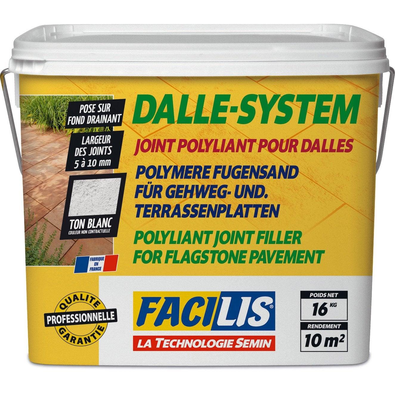 joint pour dalles blanc | leroy merlin - Comment Faire Des Joints De Dalles Exterieur